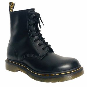 Dr Martens Women's Smooth Leather Combat Boots 8